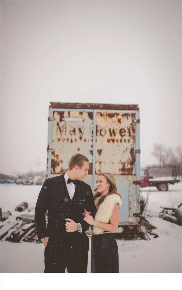 great madison engagement session