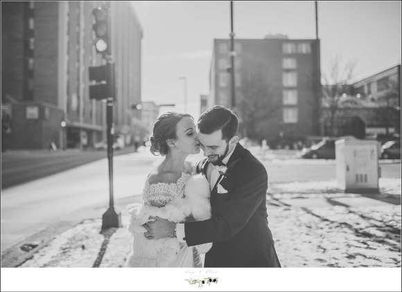 madison wi winter wedding