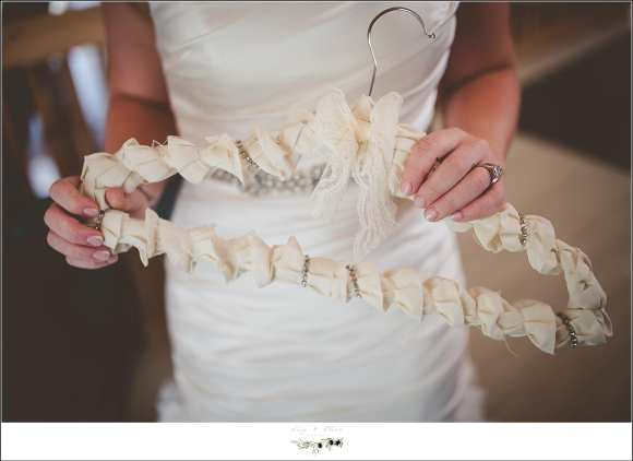 custom bridal wedding hanger
