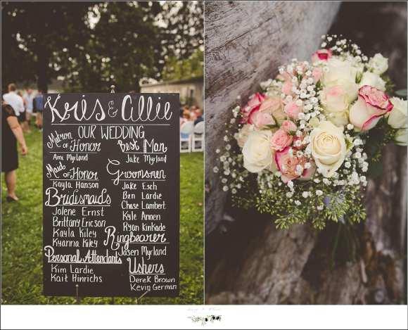 outdoor wedding venue in wi