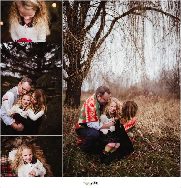 Winter Outdoor Family Photographs