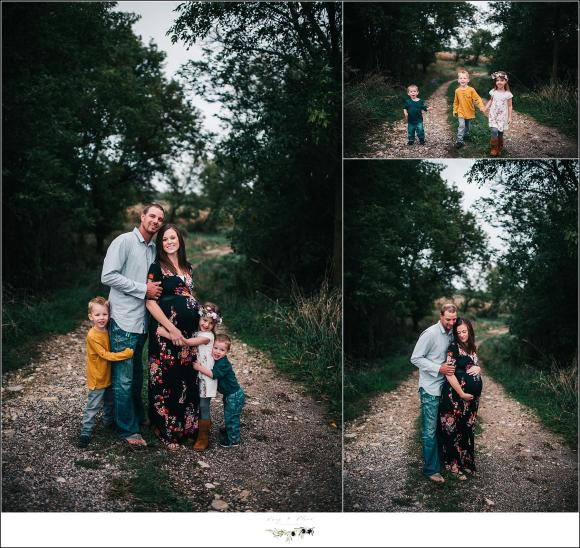 West Bend WI Family Maternity Photography Session