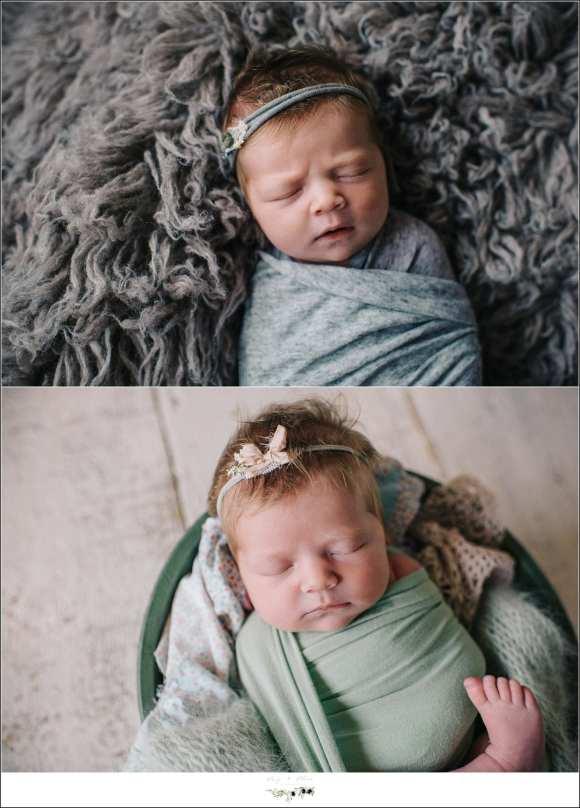 Baby Girl in Headbands