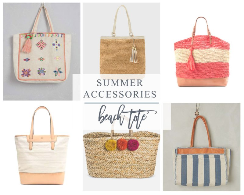 Straw or Canvas Totes are a Favorite Summer Accessory