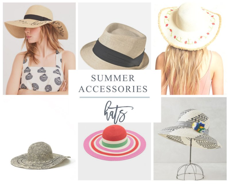 Straw Hats are a Favorite Summer Accessorie