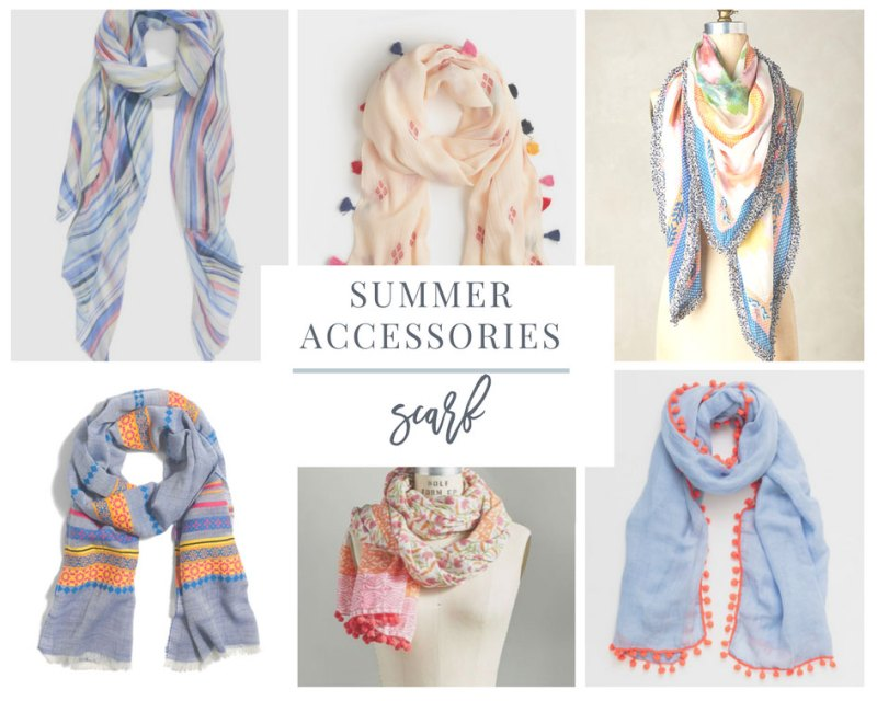Lightweight Scarf is a favorite Summer Accessory