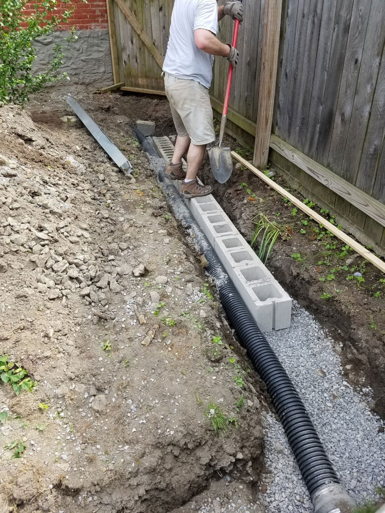 fixing drainage around your home