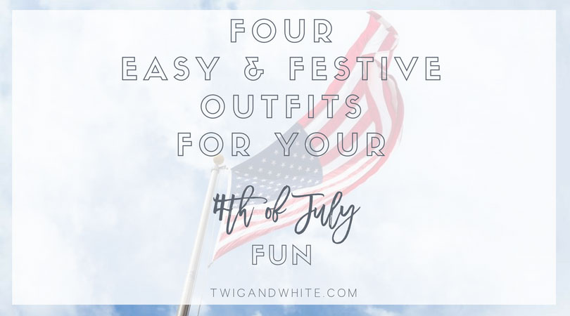 four easy and festive outfits for your fourth of july