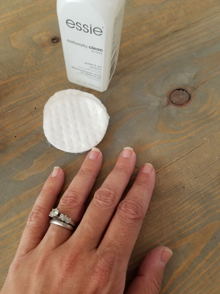At Home Gel Manicure for Summer with Essie Gel Couture