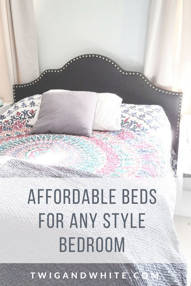 affordable beds to suite any style