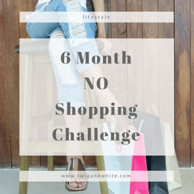 Prioritizing Life:  6 Month No Shopping Challenge