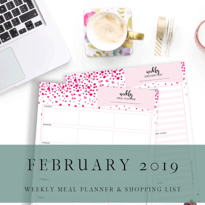 February Planner Pack Tomorrow!