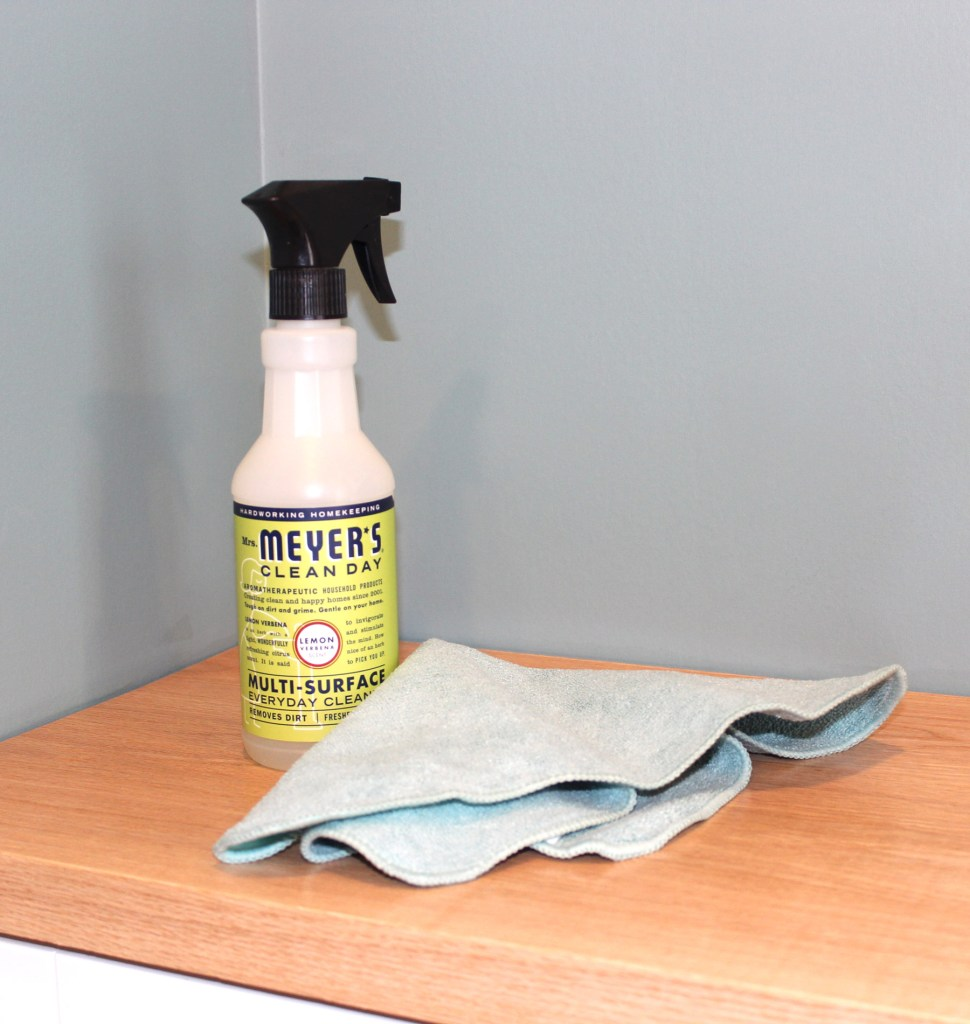 mrs meyers clean day multi surface cleaner for safer spring cleaning