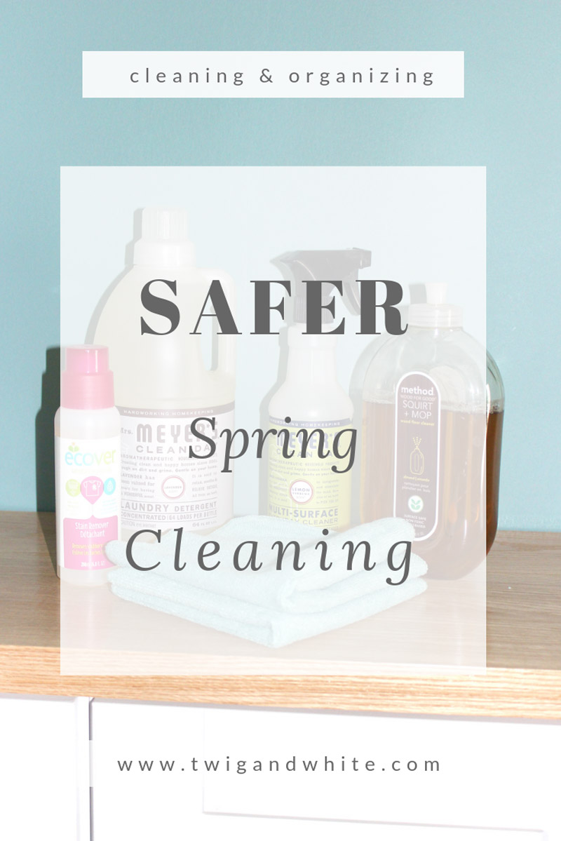 safer spring cleaning
