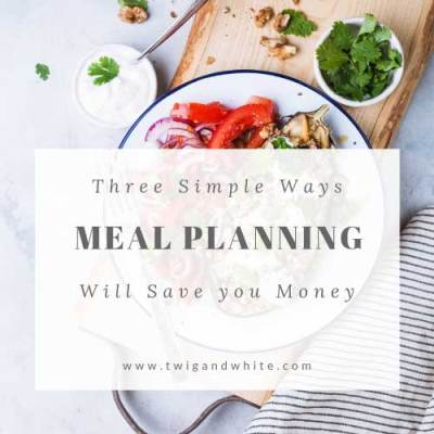 Three Simple Ways Meal Planning Can Save you Money