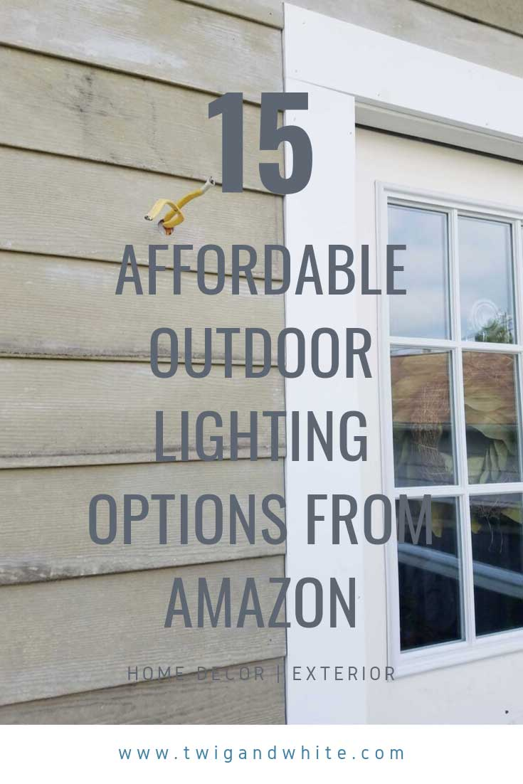 15 affordable outdoor lighting options from amazon