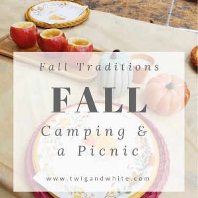 Family Traditions – Fall Picnic in the Woods