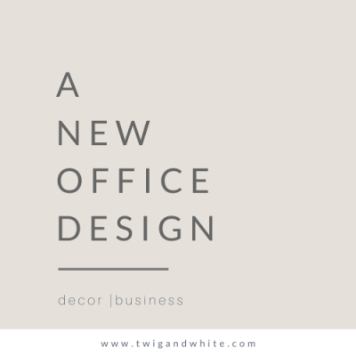 A New Office Design