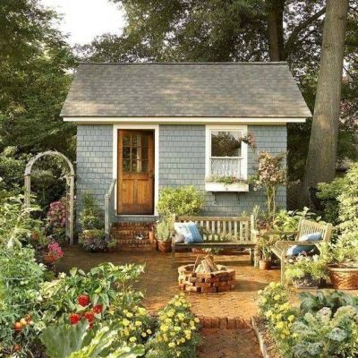 Inspired By:  Garden Sheds