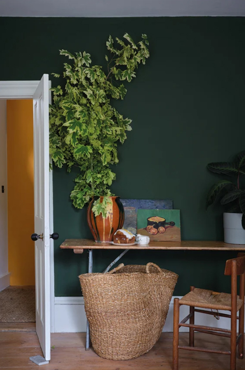 dark green paint from farrow and ball