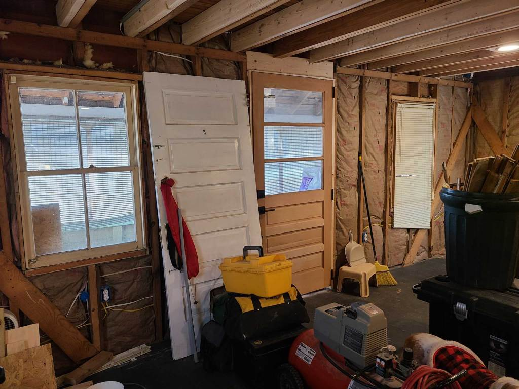 front room insulated