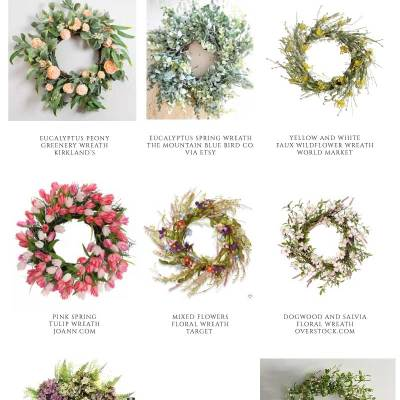 Affordable Spring & Summer Wreaths