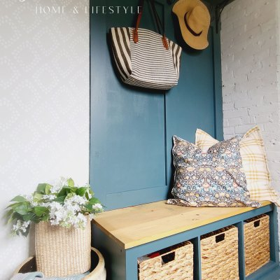 Our Simple Mudroom Updates for Fall