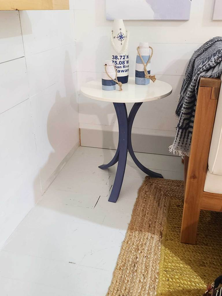 updated coastal end tables