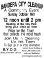 Bandera Community Clean-Up