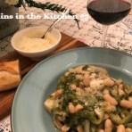 Authentic Escarole & Beans over Italian Bread