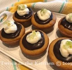 Gluten-Free Cannoli Cupcake