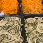 Store-bought spiralized butternut squash & zucchini