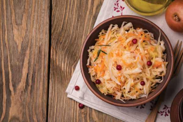 Рецепт квашеной капусты с клюквой в домашних условиях ...