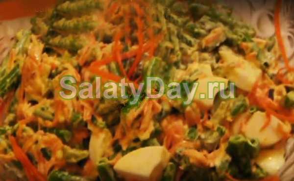 Салаты со стручковой фасолью – Салаты с зеленой стручковой ...