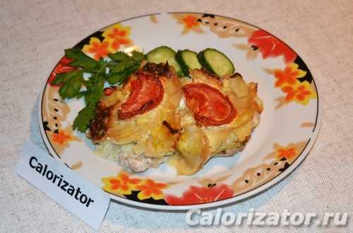 Запеканка в духовке со свининой – Запеканка картофельная ...