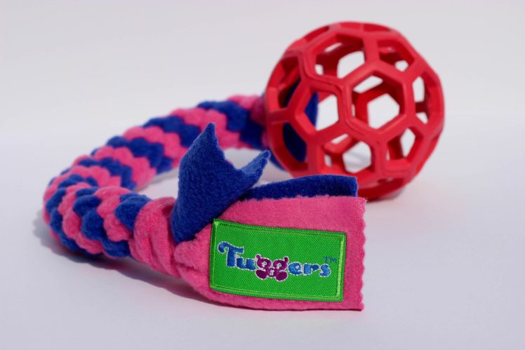 Dog toy Tuggers Pop