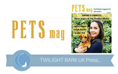 Cover & Article in Pets Magazine – May 2016