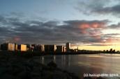 Reykjavik Sonnenuntergang