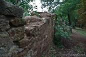 Schlosspark - Mauer