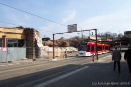 Straßenbahn-Unterführung