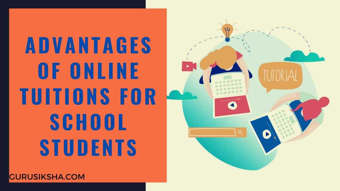 Advantages Of Online Tuitions For The High School Students In India
