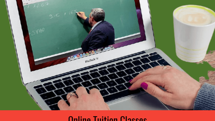 Impact due to closure of schools focused by online tuition classes