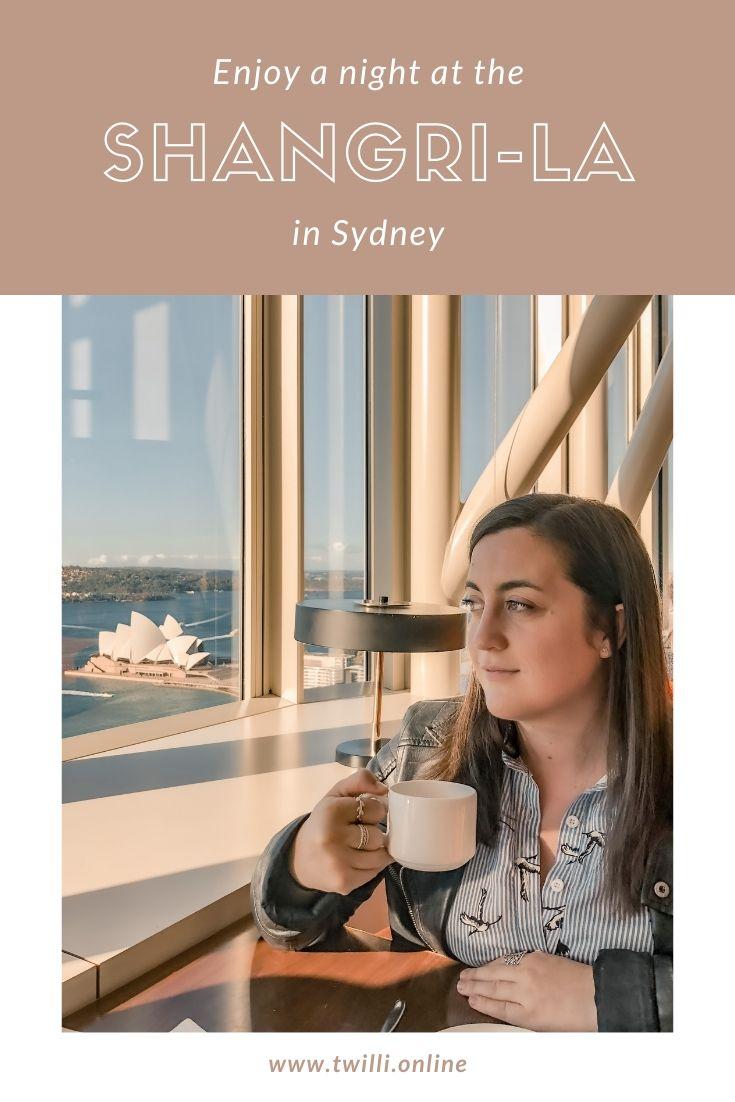 Enjoy a night at the Shangri-la in Sydney