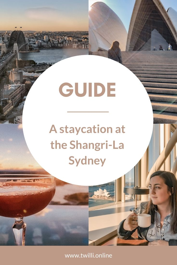 Guide - A staycation at the Shangri-la sydney