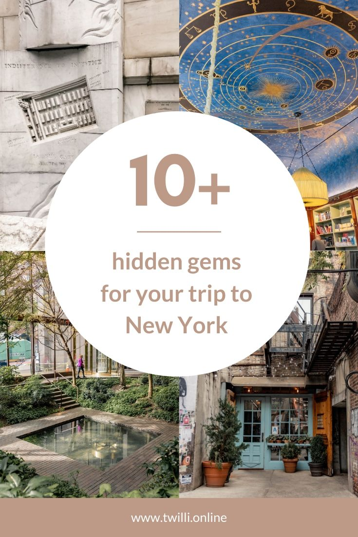 10 Hidden gems for your trip to New York