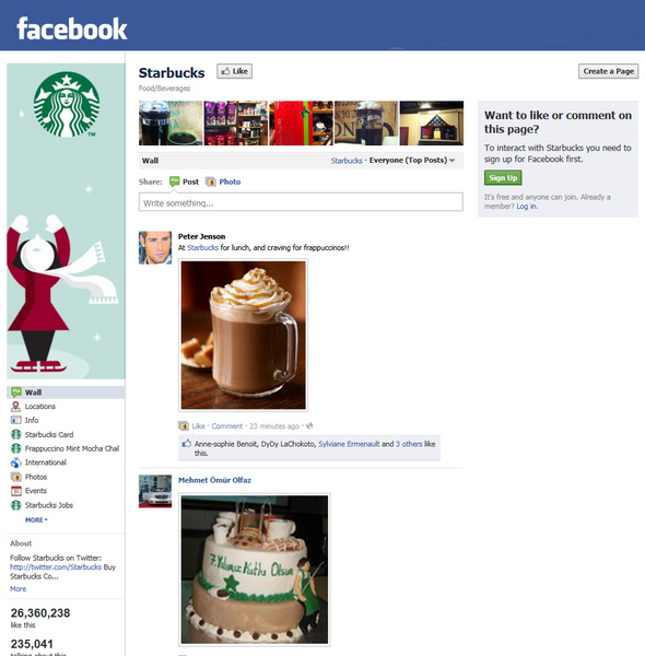 """Facebook Starbucks"""