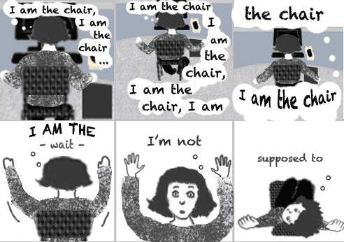 Must not be the Chair…