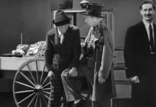 Chico, Harpo and Groucho Marx