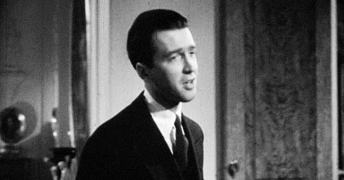 Jimmy Stewart as Bill Kirby in that neverwas classic You Can Take Your Fountainhead With You And Swing It.