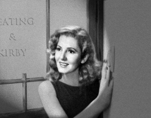 Jean Arthur as Ann Kirby in the neverwas classic